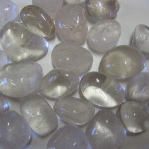 Burattato quarzo ialino - cristallo di rocca