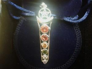 ciondolo chakra Pentagramma