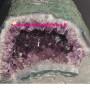 Geode di ametistaBrasile.Dim. 26x16x21(h)cm.Poco profonda la cavità. 15.8kg